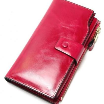 Wallet for Women Pink Multifunction..