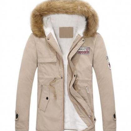 Beige Jacket for Men and Women Unis..