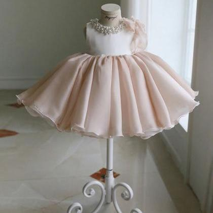 Elite Pink Tutu Dress for Infant Gi..