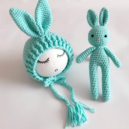 Mint Green Hat Baby Shower Gifts Cr..