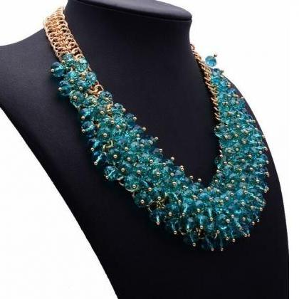 RSS 2018 Silk Bib Necklace Statemen..