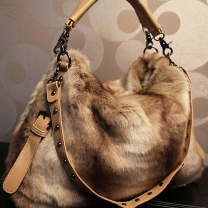 Brown Large Bag Multipurpose Fashio..