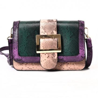 Small Bag Green Clutch for Women Sn..