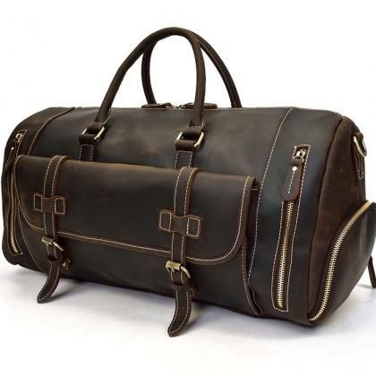 Heavy Duty Black Leather Bags for M..