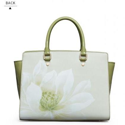 Genuine Green Tote Bags for Women H..