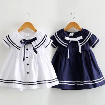 FREE SHIPPING Navy Sailor Girls Dre..