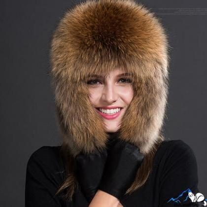 Royal Blue Hats Russian Fur Hats fo..