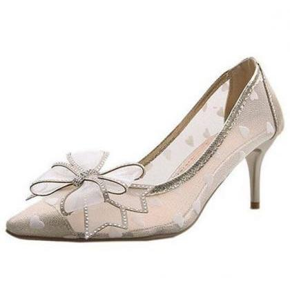 Rsslyn Ivory Beige Shoes for Women ..