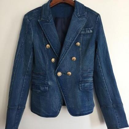 Free Shipping Denim Blazers for Wom..