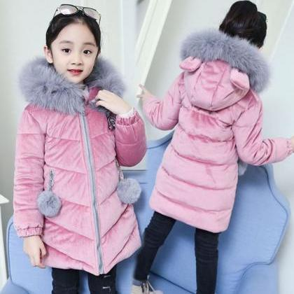 RSS Boutique Toddler Girls Pink Par..
