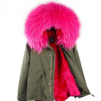 SALE Green Parka for Women Big Rex ..