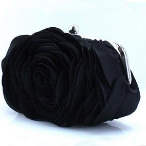 Black Clutch for Elegant Women-Big ..