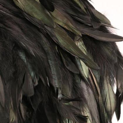 Exotic Feather Scarf for Women Big ..