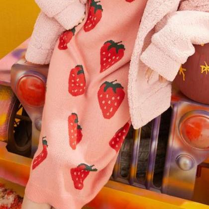 Lazy Strawberry Sweaters for Women ..