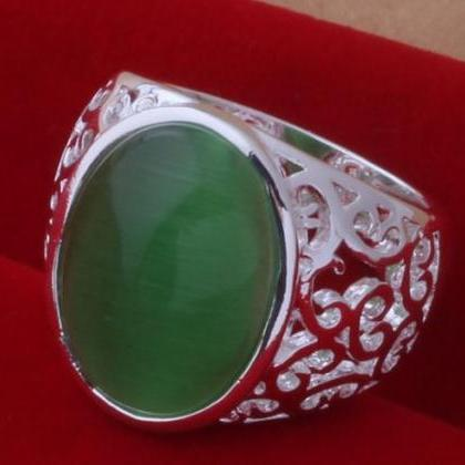 Ready to Ship Green Rings for Women..