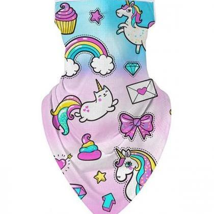 Rsslyn Masks for Girls Unicorn Face..