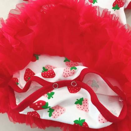 Free Shipping Strawberry Set Clothe..