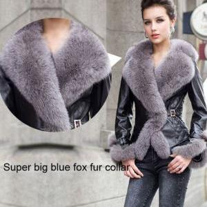 Free Shipping Real Sheepskin Leathe..