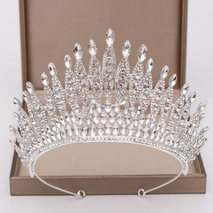 Silver Bridal Crowns with Free Silv..