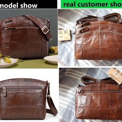 Rsslyn Now SALE Brown Leather Bags ..