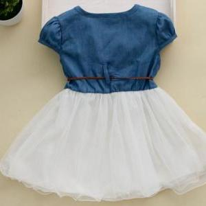 Free Shipping Girls Denim Dress Gir..