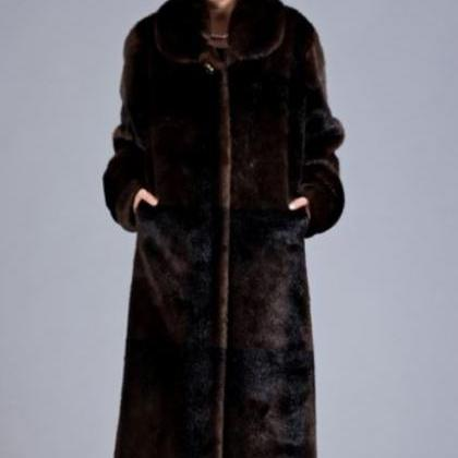 Brown Overcoat Ultra Long Overcoats..