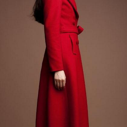 Red Winter Coats Red Trench Coats f..