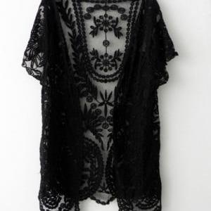 READY FOR SHIPPING Lace Cardigan Bo..