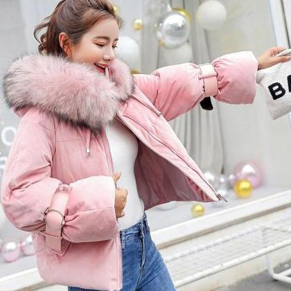 Pink Jackets Winter Coats for Women..