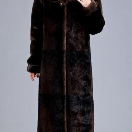 Brown Overcoat Thermal Winter Ultra..