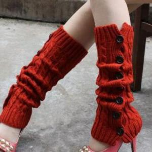 Free Shipping Black Leg Warmers-Bla..