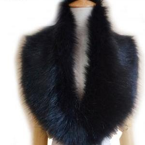 Beige Winter Faux Fur Collar Scarf ..