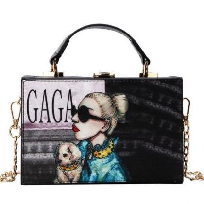 Vogue Lady Gaga Square Purse Lady G..