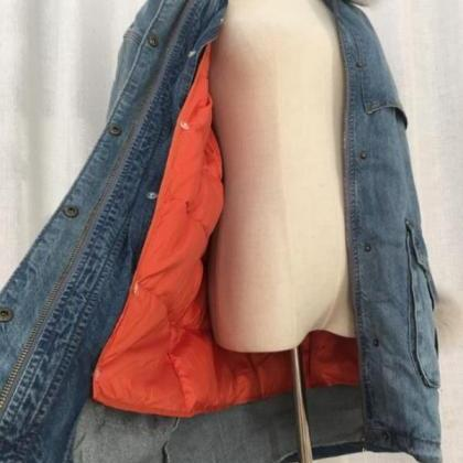 Rsslyn Durable Denim Jackets for Wo..
