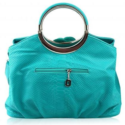 Turquoise bags