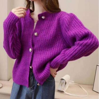 Rsslyn Vibrant Magenta Sweaters for..