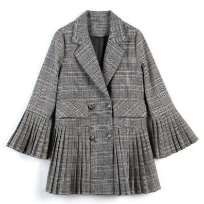 Ready to Ship Houndstooth Blazers f..
