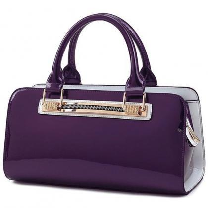 Purple Tote for Women Ready for Shi..