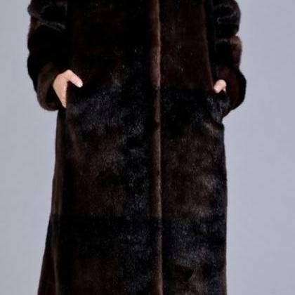 Chocolate Brown Overcoat Thermal Wi..