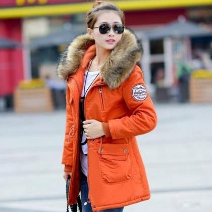 Red Down Parkas Winter Jackets Outw..