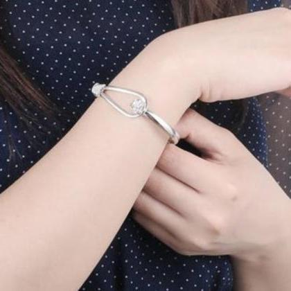 Silver Plated Bracelets for Women R..