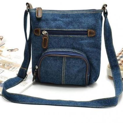 Denim Bags Denim Crossbags Denim Pu..
