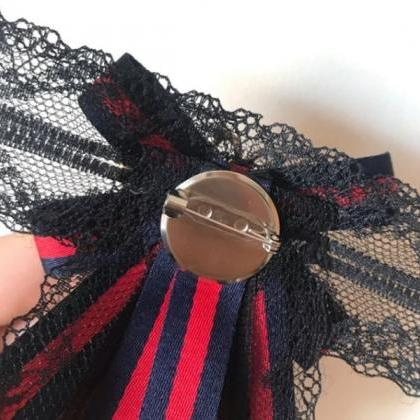 RSSLyn Lapel Pins for Women Striped..