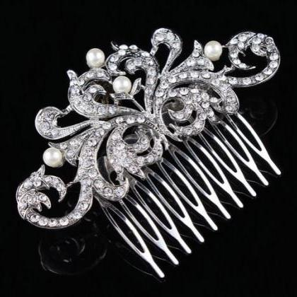 RSSLyn Silver Hair Combs for Women ..