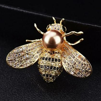Rsslyn 2pcs Bee Brooches for Women ..