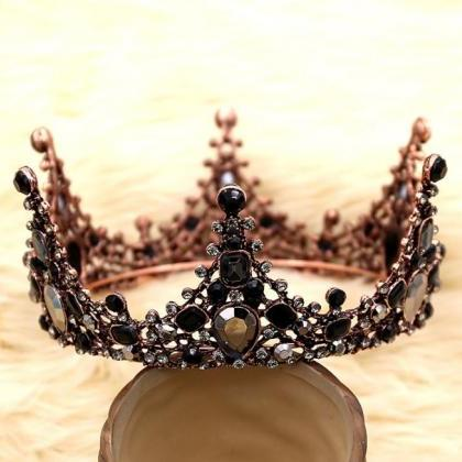 Black Crowns and Tiaras for Women a..
