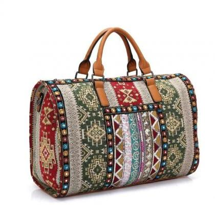 Durable Traveling Bags Ethnic Style..