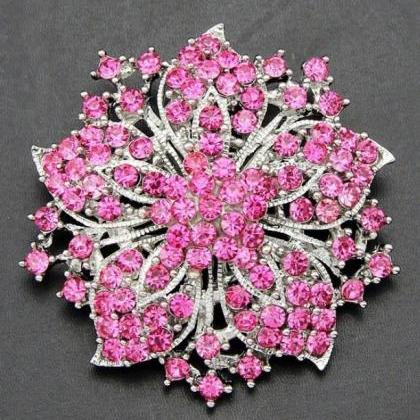 Red Star Brooch Wedding Prom Party ..
