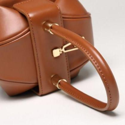 Beige Leather Bags for Women Famous..