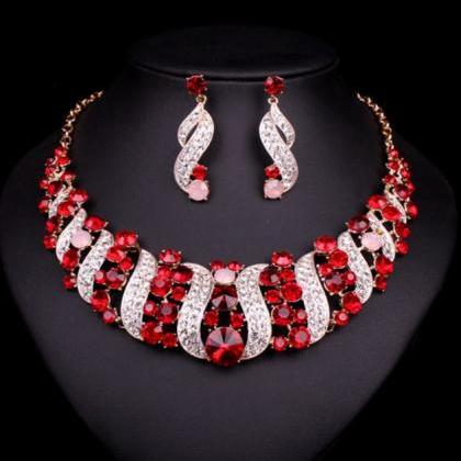 Womens Multi-color Jewelry Sets Sta..